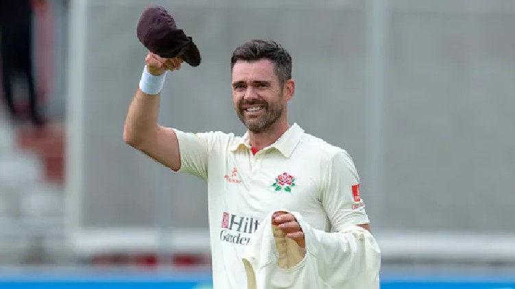 James Anderson Goes Wickets