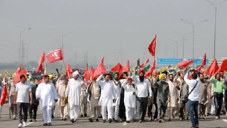 Farmers Protest Fuel Price