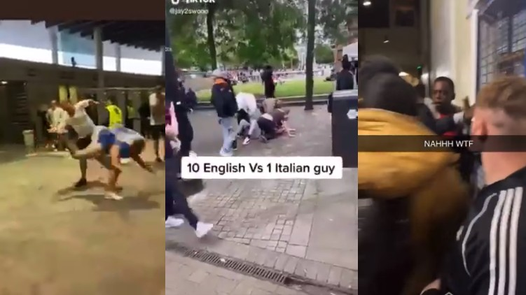 england fans racism euro