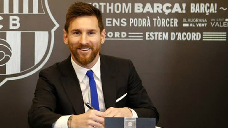 Messi agrees deal Barca