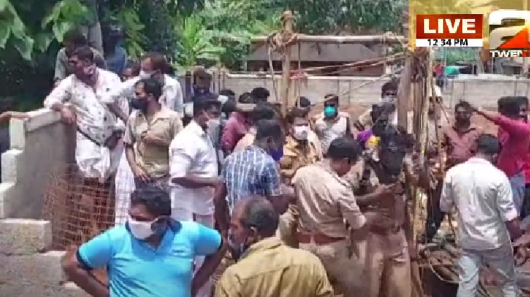 trapped well in kollam