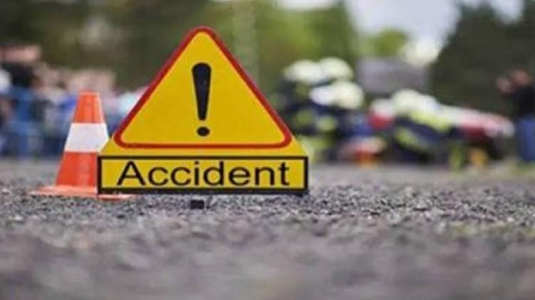 lorry bike crashed died