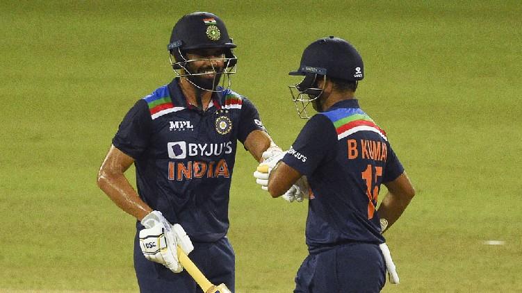 India won srilanka odi