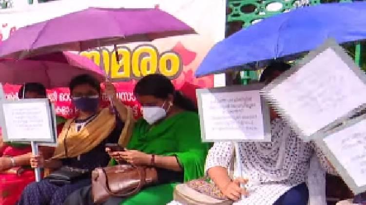 PSC list extension Rank Holders Associations began strike in front Secretariat