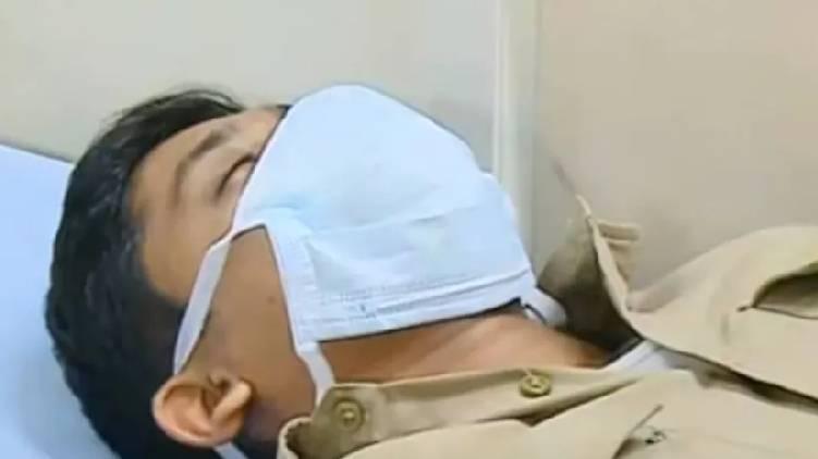 sub inspector attacked in peroorkkada
