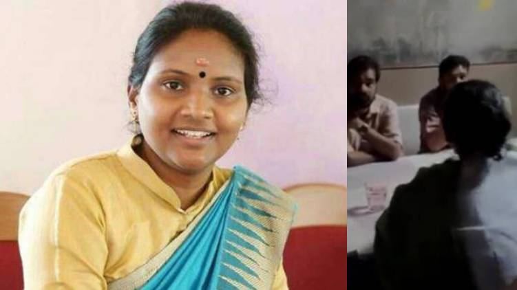 Ramya Haridas MP says she came to hotel buy parcel because raining