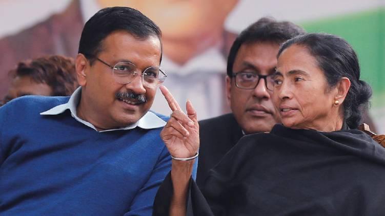 mamata Banerjee will hold talks with Arvind Kejriwal