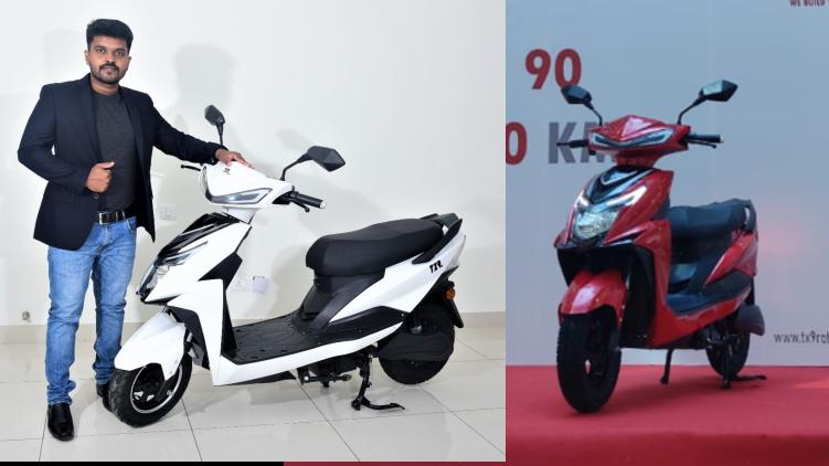 Malayali's e-scooter