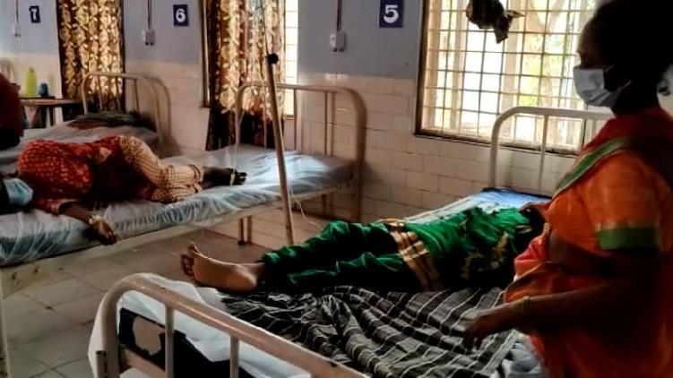 family hospitalised