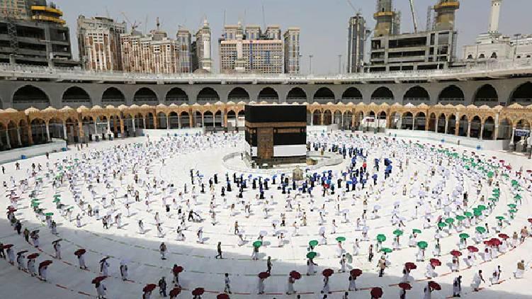 hajj begins today 2021