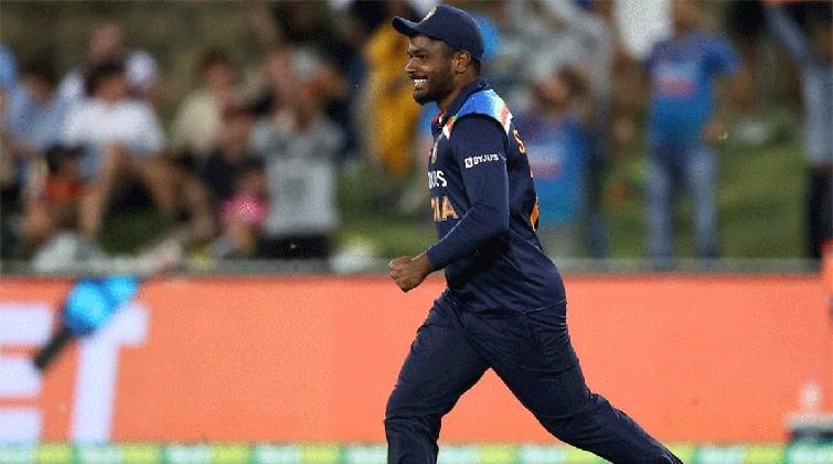 india batting sanju debute