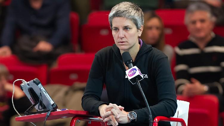 Marija Cicak Umpire Wimbledon