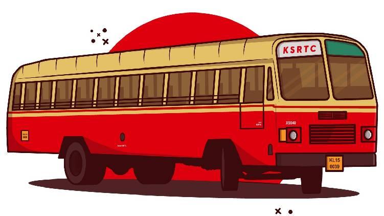 new srtc bus stand in ernakulam