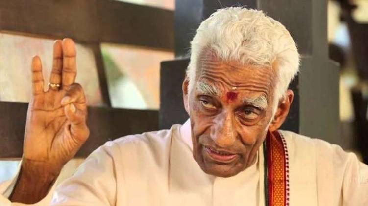 Nelliyode Vasudevan Namboodiri passes away