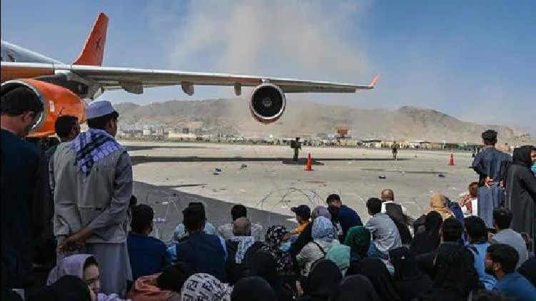 24 Web Deskkabul airport evacuation