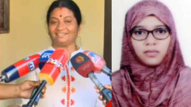 nimsha fathima and mother