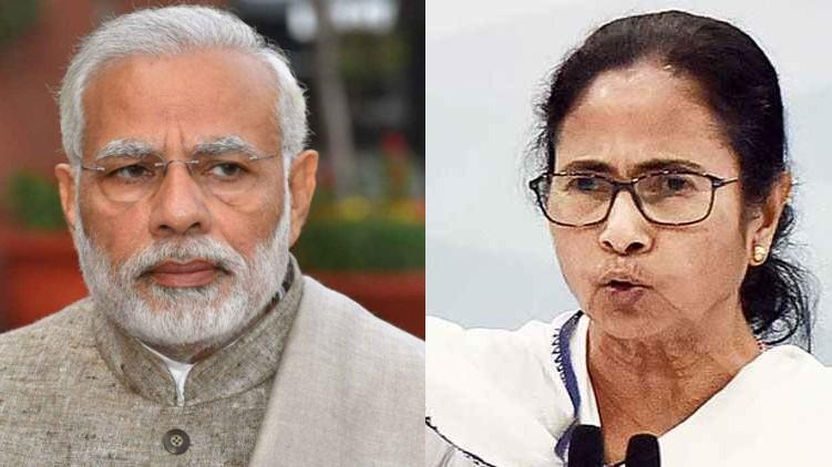 mamata banerjee against narendra modi