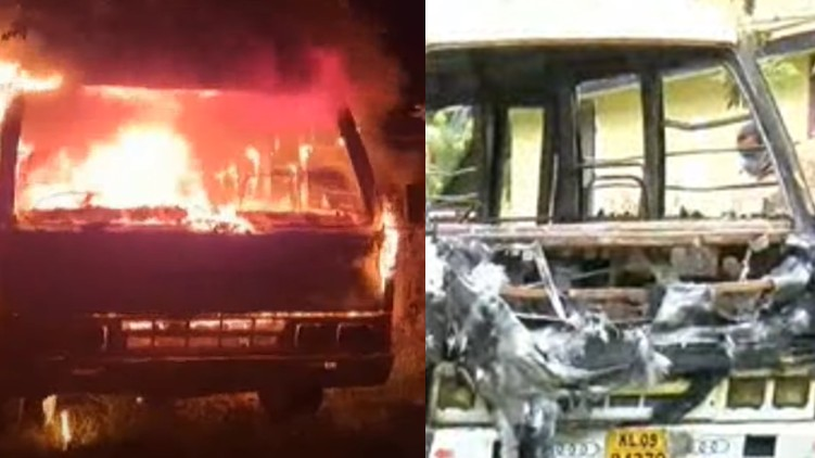 van got fired-driver died-alapuzha