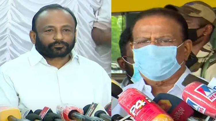 k sudhakaran responding-resignation of av gopinath
