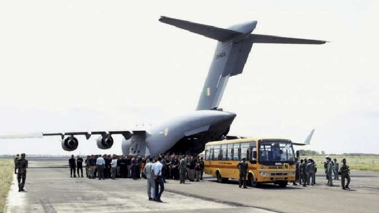 indians return from afghan