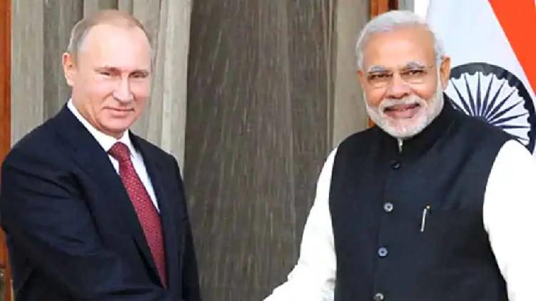 Modi Putin hold talks