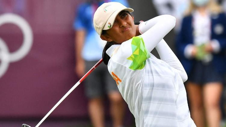 olympics golf aditi ashok