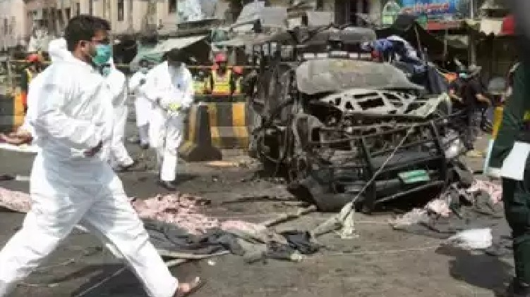 Dead Bomb Attack Pakistan