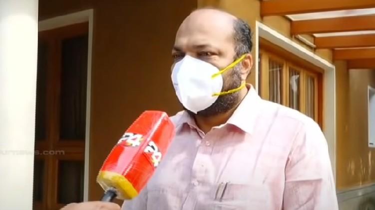 minister rajeev about onam