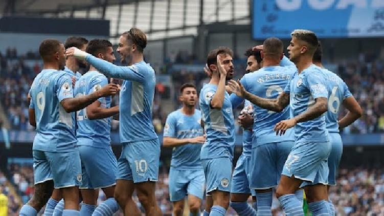 Manchester City won Norwich