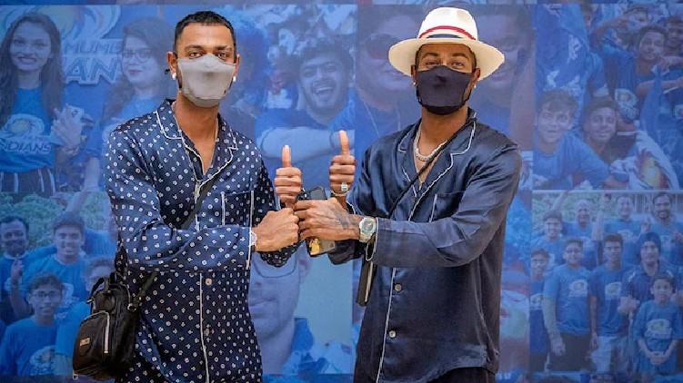 Pandya brothers Mumbai Indians