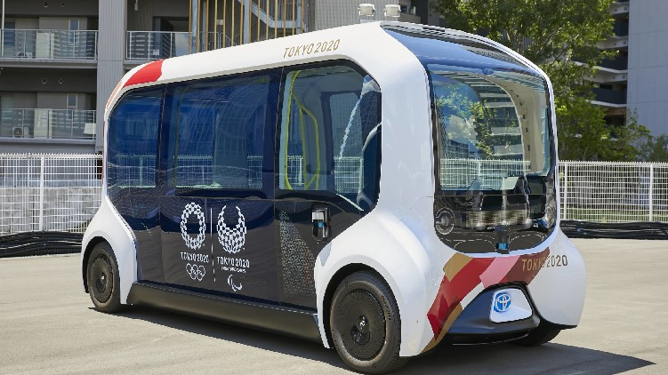 self driving vehicles Olympic