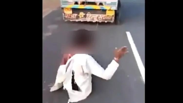tribal man murder madhya