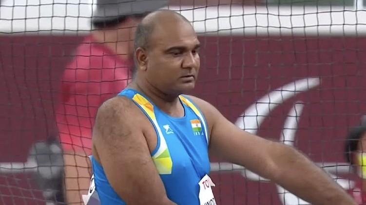 Vinod Kumar Paralympics bronze