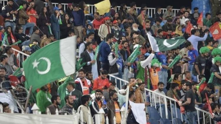 Spectators Pakistan New Zealand