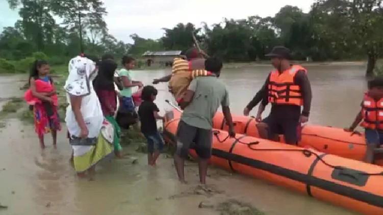 assam flood 2 dead