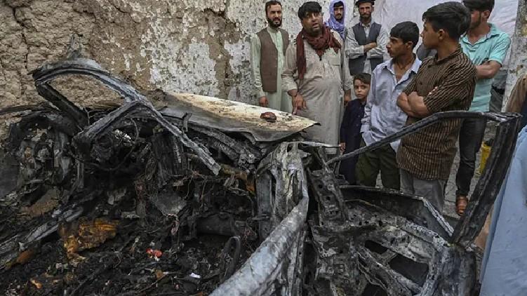 US Killed Kabul Family