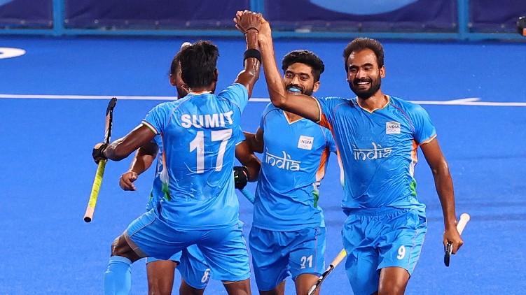 olympics hockey india germany