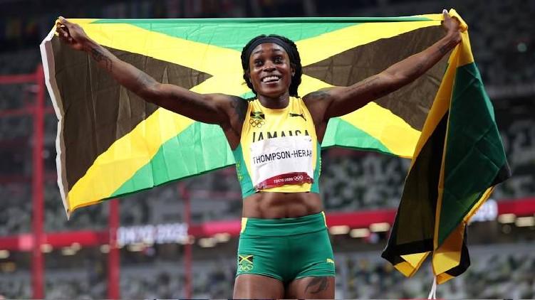 elaine thompson gold olympics
