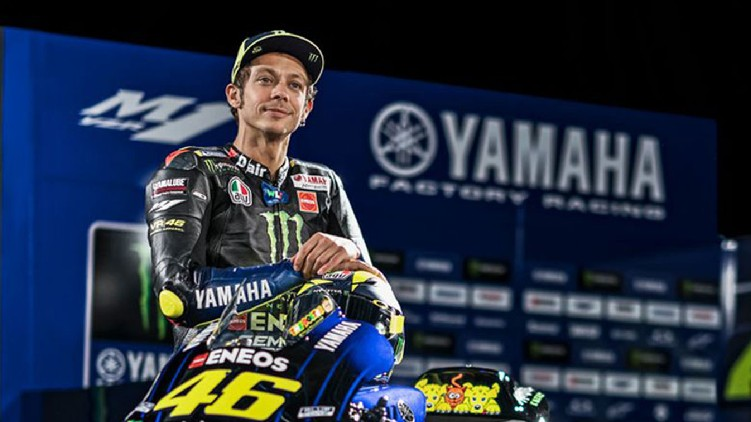 Valentino Rossi retire MotoGP