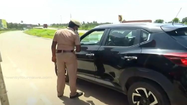 valayar border checking