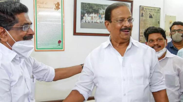 kpcc meeting , k sudhakaran