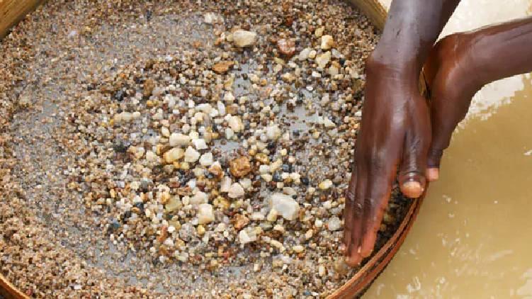 Farmer Mines Diamond