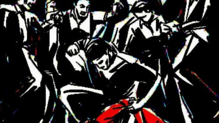 Youth beaten up by gang
