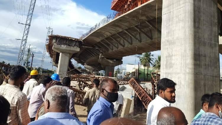 bridge collapses madurai