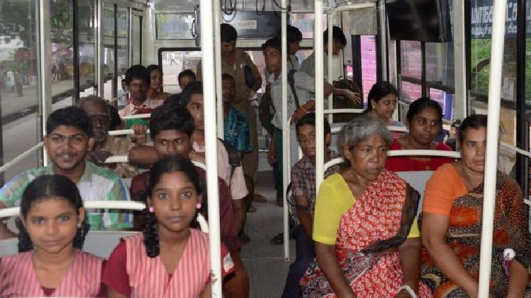 Free bus service for students