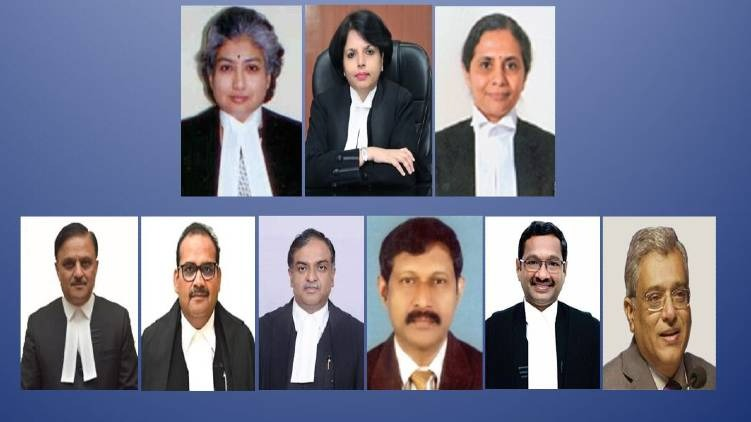 Govt clears all 9 names sent by Collegium