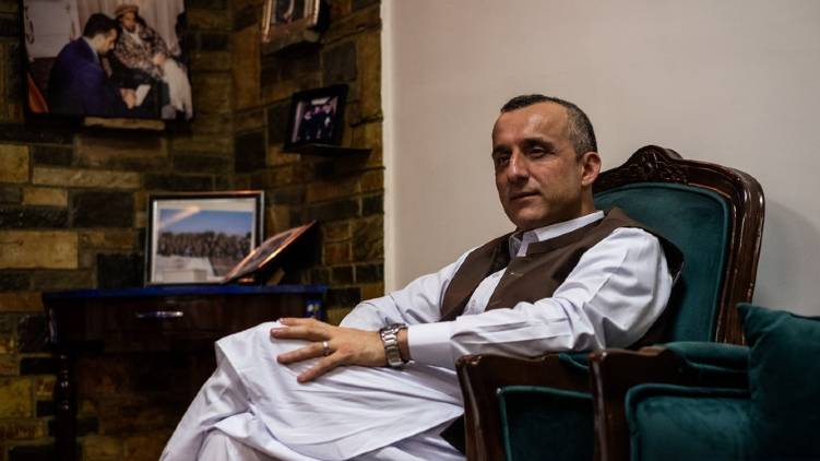 amrullah saleh claims afghan