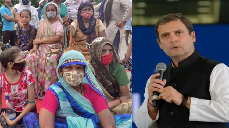 Rahul Gandhi meets family