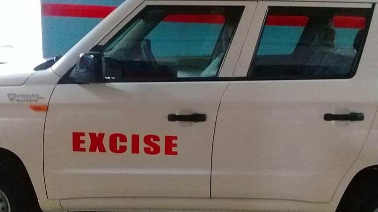 excise raid four places