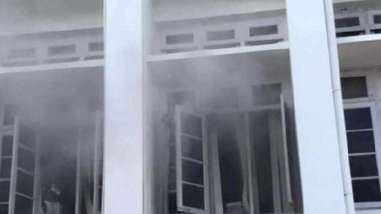 Police report on Secretariat fire